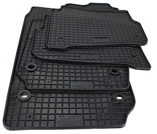 Amazon.es: kfzpremiumteile24 alfombrillas de pie de goma 4 piezas en ...