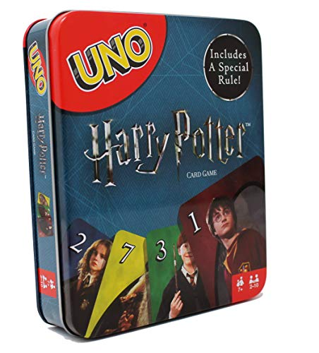 Harry Potter UNO Card Game, Special Edition in Collectable - Blast Game Uno