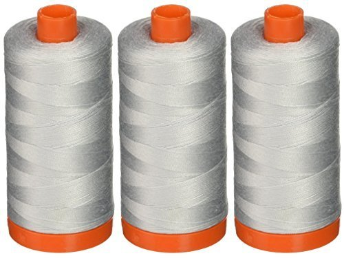 3-PACK - Aurifil A1050-2600 Mako Cotton Thread Solid 50WT 1422Yds Dove