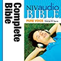 NIV Audio Bible, Pure Voice Audiobook by  Zondervan Bibles Narrated by George W. Sarris
