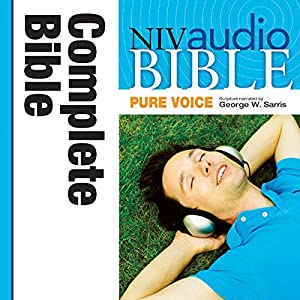 NIV Audio Bible, Pure Voice Audiobook