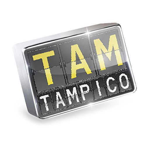 Floating Charm TAM Airport Code for Tampico Fits Glass Lockets, - Glasses Tampico