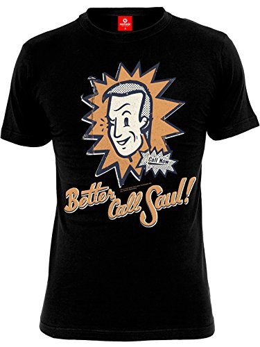 Breaking Bad Better Call Saul Comic Shirt black, Größe:XL