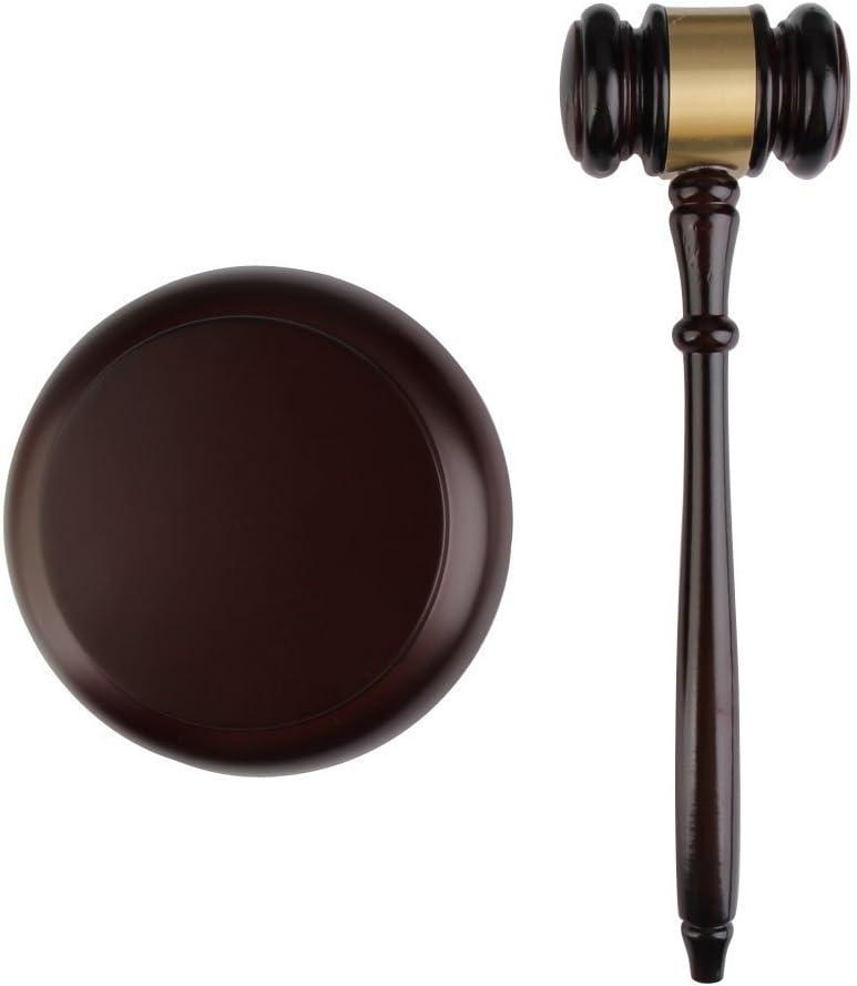 Vktech Maillet en bois fabriqu/é /à la main avec bloc pour vente aux ench/ères