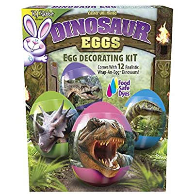 RJ Rabbit Dinosaur Eggs Decorating Kit: Toys & Games