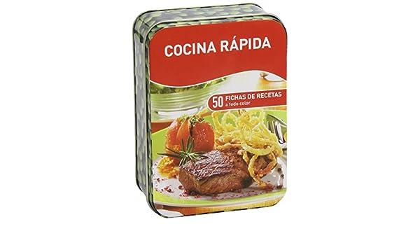 COCINA RAPIDA (CAJAS DE RECETAS) (NUEVA ED.): VV.AA.: 9783625002550: Amazon.com: Books