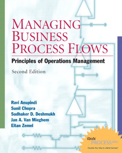 Managing Business Process Flows: Principles of Operations Management w/ Student CD (2nd Edition)