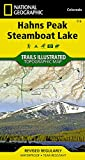 Hahns Peak, Steamboat Lake (National Geographic Trails Illustrated Map)