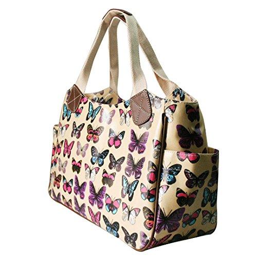 Para Miss Tela Beige Lulu Mujer Bolso Butterfly De BB1CWn6H