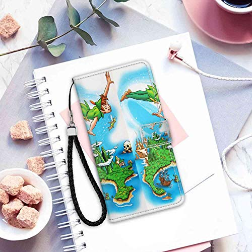 (DISNEY COLLECTION Tinker Bell Phone Wallet Case Fit for iPhone X (2017), iPhone 10 (2017), iPhone Xs (2018) (5.8in) Nice)