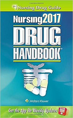 nursing2017 drug handbook nursing drug handbook 9781496322555
