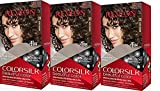 Revlon Colorsilk Beautiful Color, Dark Brown, 3 Count