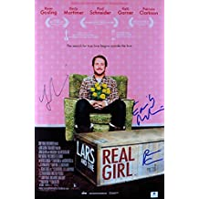 Ryan Gosling/Mortimer/+ Signed 12X18 Photo Lars and the Real Girl JSA T59335