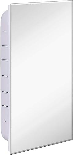 Simple Recessed Medicine Cabinet with Mirror