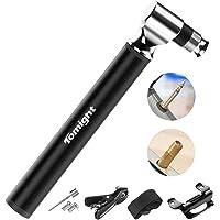 tomight Mini Bike Pomp, 300 PSI Hand Pomp met Frame, Nauwkeurige Snelle Inflatie, Mini Fietsband Pomp voor Weg…