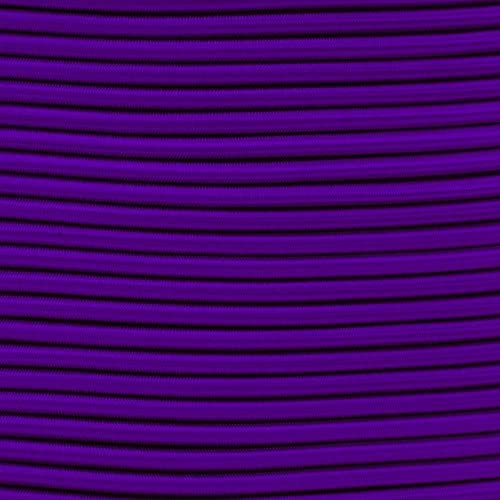 Paracord Planet 3//16 Elastic Bungee Nylon Shock Cord Available in Various Colors /& Sizes USA Made