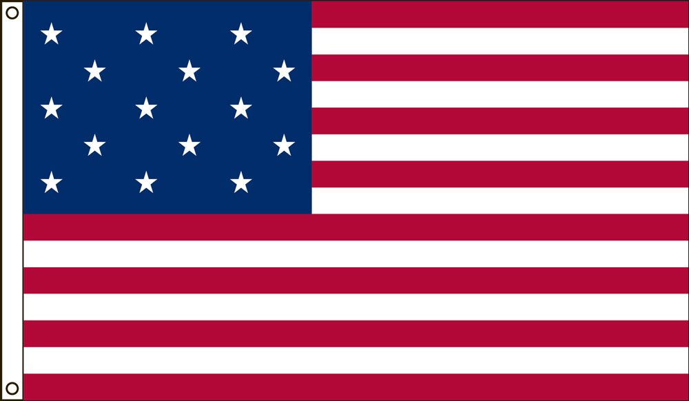 Valley Forge Flag 3-Foot by 5-Foot Nylon Star Spangled Banner Historical Flag with Canvas Header and Grommets by Valley Forge
