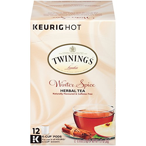 (Twinings of London Winter Spice Tea K-Cups for Keurig, 12 Count)