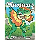 Dinosaurs: An Adult Coloring Book with Cute Cartoon Dinosaurs, Giant Prehistoric Animals, and Relaxing Jungle Scenes (Dinosaur Gifts for Relaxation)