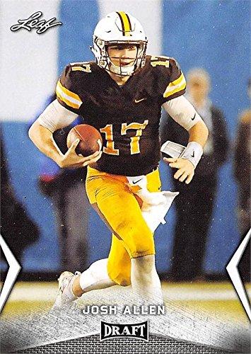 Josh Allen Football Card (Wyoming Cowboys 7396fc70b