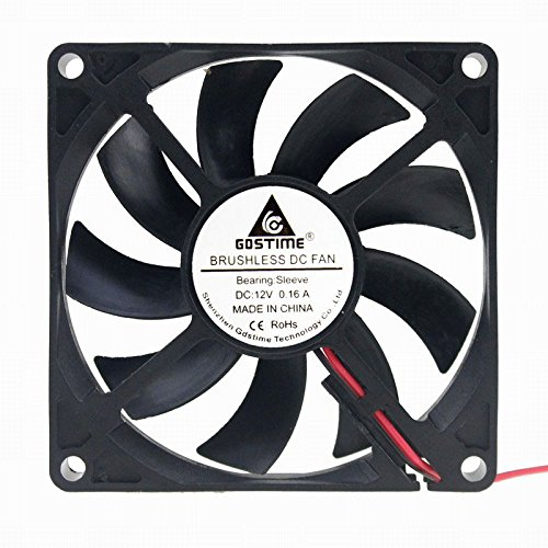 GDSTIME 8cm 80mm X 80mm X 15mm 12v Brushless Dc Cooling Fan by GDSTIME (Image #1)