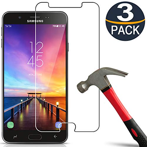[3 Pack] Galaxy J7 2018 Screen Protector Tempered Glass Compatible with Samsung...