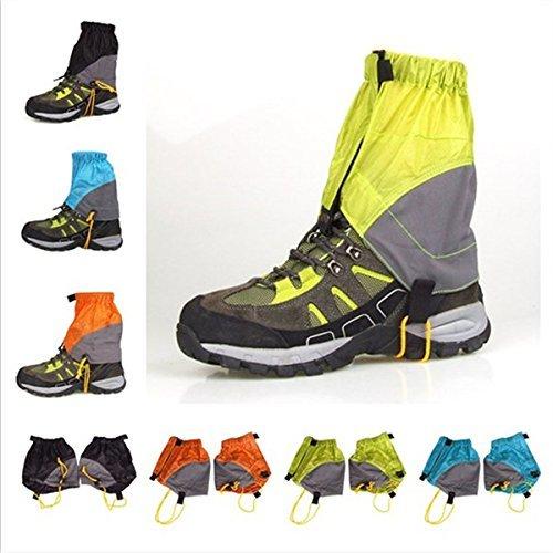 UHNT Outdoor Waterproof Essential Ankle Walking Gaiters (1 Pair) -Black by UHNT (Image #9)