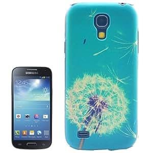 Dandelion Pattern Transparent Edge Plastic Case for Samsung Galaxy S IV mini / i9190