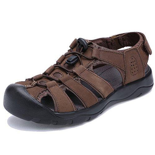 おびえたパテ委任ONE MAX スポーツサンダル メンズ 大きいサイズ アウトドアサンダル ビーチ 本革 つま先ガード 靴 スニーカー ウォーキング 男性 運転 通勤 職場用