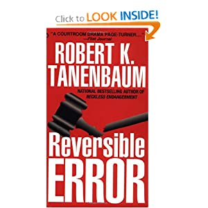 Reversible Error Robert K. Tanenbaum