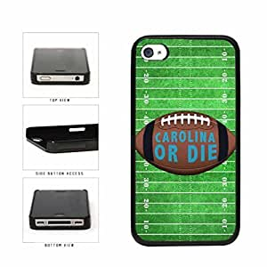 Carolina or Die Football Field Plastic Phone Case Back Cover Apple iPhone 4 4s
