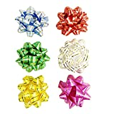 Allgala 30-pc 3'' Everyday Gift Wrapping Bows 6-Color Assorted