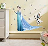 Buy Box Frozen Elsa Removable Wall Art Decal Sticker 45 X 60cm Picture