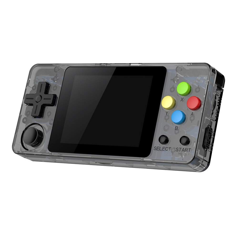 New LDK Game Handheld Gaming Console, Retro Portable Gaming System Handheld Game Console Kids Adults Screen by 2.6 Thumbs Mini Palm Nostalgia Console Children of Family TV Video (2.7 -inch, Gray) by Huangou (Image #3)
