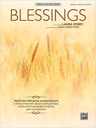 Blessings: Piano/Vocal/Guitar, Sheet (Original Sheet Music