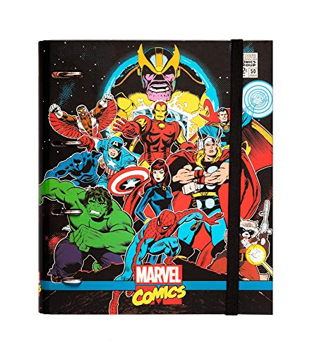 Erik CAT0060 A4 Ring Binder - Marvel Comics Avengers Premium (Marvel Folder Comics)