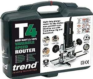 Trend CASE/T4tendencia caso/T4funda de transporte para T4Router–negro