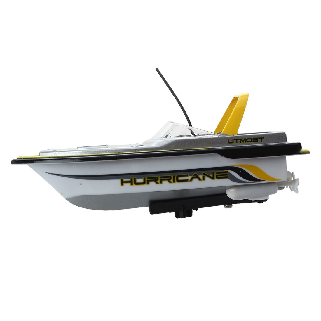 SODIAL(R) 3352 MINI BARCA MOTOSCAFO YACHT RADIOCOMANDATO RC GIALLO SODIAL (R) 017277