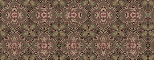 Kane Carpet - Dynasty Collection - Green Chou - 12'x14' - Dynasty Collection Area Rug