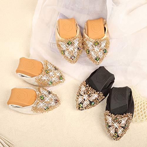 31 Plana A la Maternidad Suela Zapatos Antideslizantes FLYRCX Zapatos de Suave EU la de Fondo Trabajo Zapatos Rhinestone Profundos de Poco señaló de Mujer de Mariposa de XwxFXqS