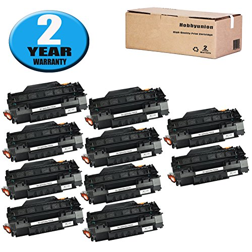 (10 Pack Compatible Q5949A (49A) Ink Cartridge by Hobbyunion for LaserJet 1320 1320N 1320NW 1320T 1320TN 1160 1160 1160LE 3390 3392 (Black))