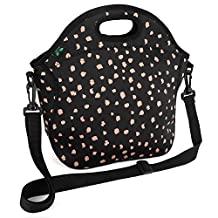 F40C4TMP Insulated Lunch Bag for Women Men Adults Neoprene Lunch Tote Meal Prep