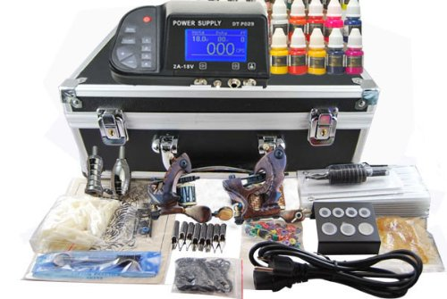 8 coil tattoo power supply - 8
