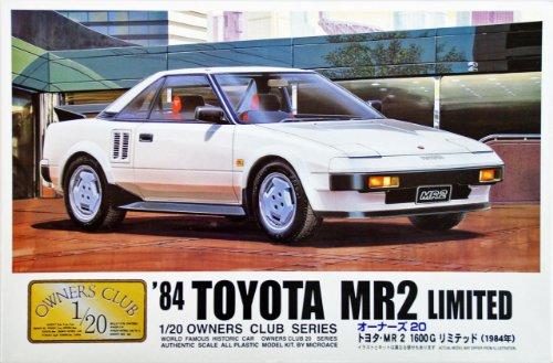 マイクロエース 1/20 オーナーズ20 No.2 `84 MR-2