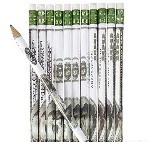 Rhode Island Novelty $100 Bill Wooden Pencils   24 Pieces  