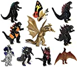 EZFun Set of 10 Godzilla Toys with Carry