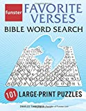 Funster Favorite Verses Bible Word Search - 101 Large-Print Puzzles: Exercise Your Brain, Nourish Your Spirit
