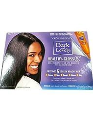 SoftSheen-Carson Dark and Lovely Healthy-Gloss 5 Shea Moisture No-Lye Relaxer - Regular