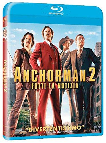 Anchorman 2 - Fotti La Notizia Ex-Rental Italia Blu-ray: Amazon ...