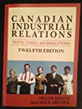 img - for Canadian Industrial Relations book / textbook / text book